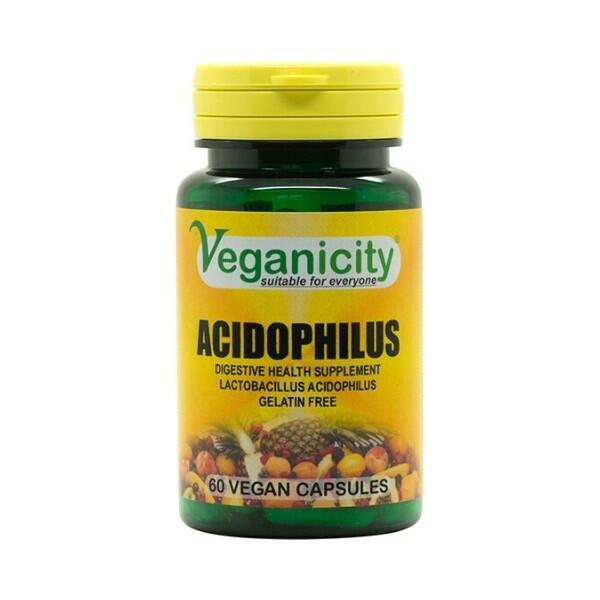 Acidophilus - probiotika pro zdravé trávení a imunitu, 60 kapsúl